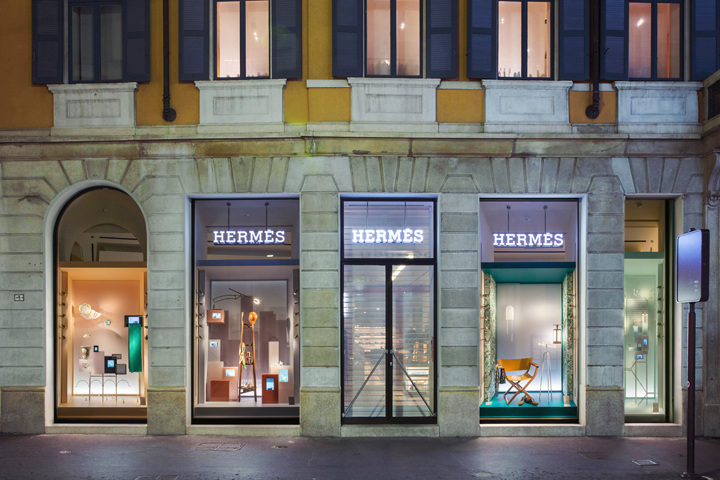 & Hermès Window Display Milan - Studio WM.